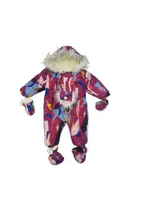 Minnak Bebe Mandolin Kids 2194 Kız Bebek Içi Welsoft Astarlı Astronot Tulum