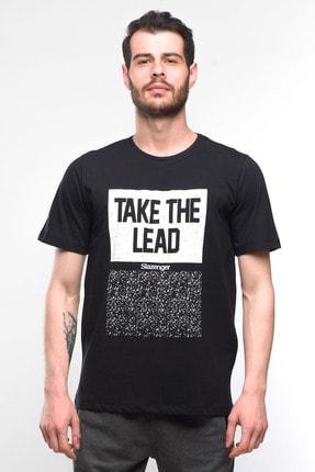 Slazenger SCORE Erkek T-Shirt Siyah ST10TE018
