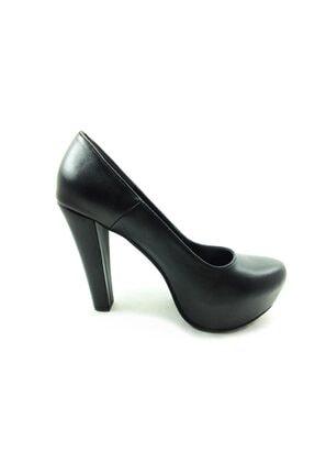 Almera Topuklu Platform Ayakkabı - Siyah - 1960