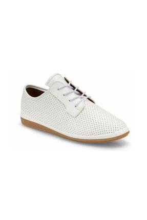 Polaris Comfort Beyaz Renk Rahat Taban Yazlık Günlük Ayakkabı