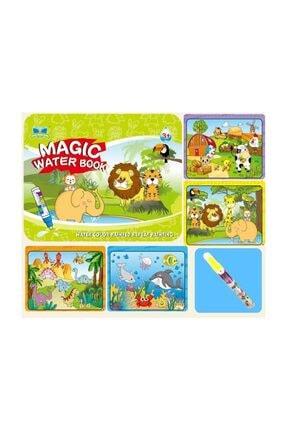 Esmay Sihirli Boyama Kitabı Magic Water Sulu Kalem Ile Boyama Fs-135