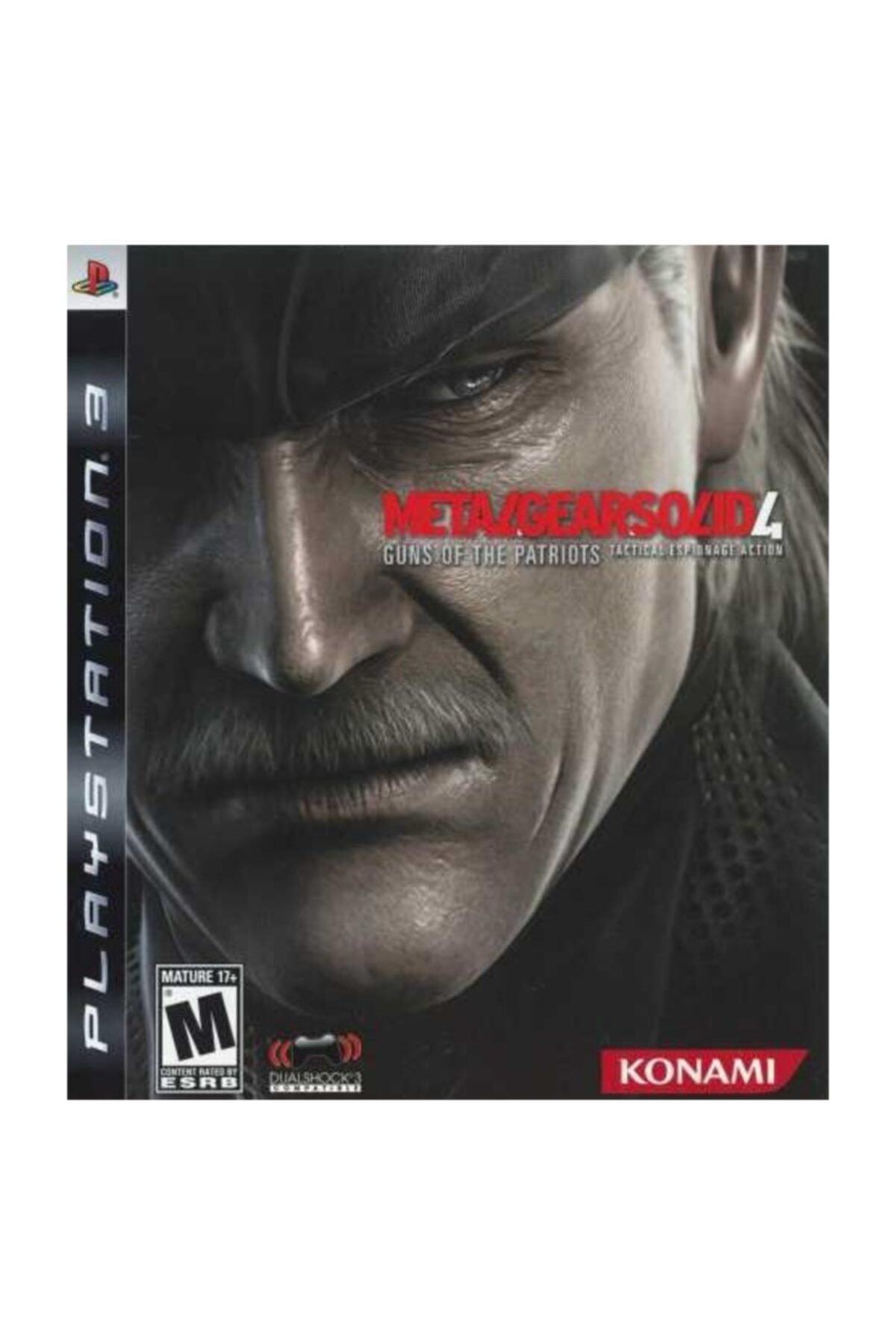KONAMI Metal Gear Solid 4 Guns Of The Patriots Ps3 1