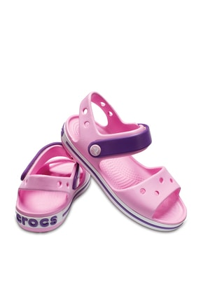 Crocs Kids Pembe Unisex Çocuk Sandalet