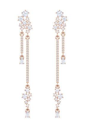Swarovski Küpe Moonsun Pierced Earrings Drop Czwh/Ros 5486635