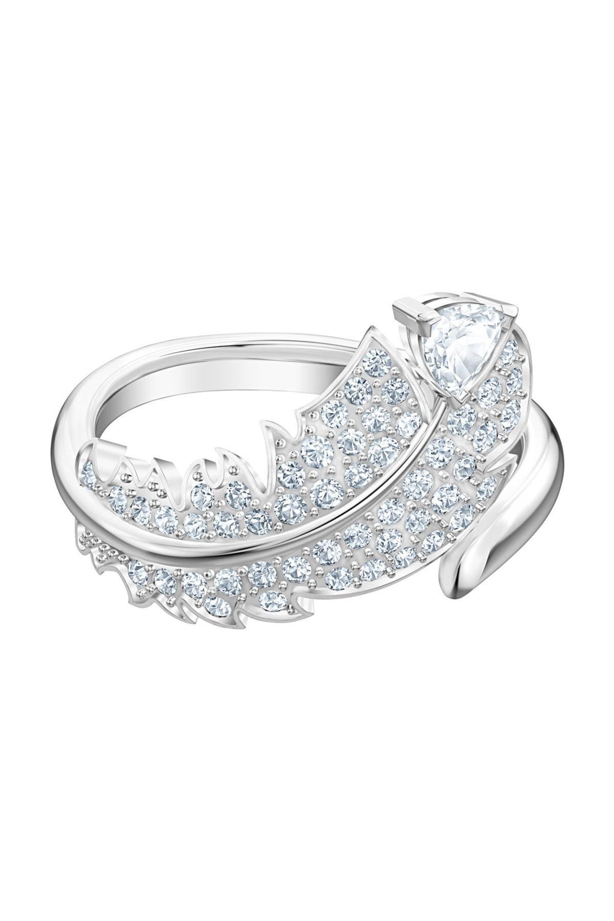 Swarovski Yüzük Nice:Ring Simple Czwh/Rhs 52 5515029 1