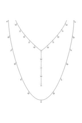 Swarovski Kolye Moonsun:Necklace Layer Czwh/Rhs 5509171