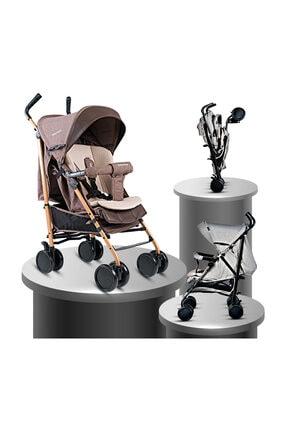 Baby Home Bh-106 Quid Alüminyum Baston Bebek Arabası Kahve