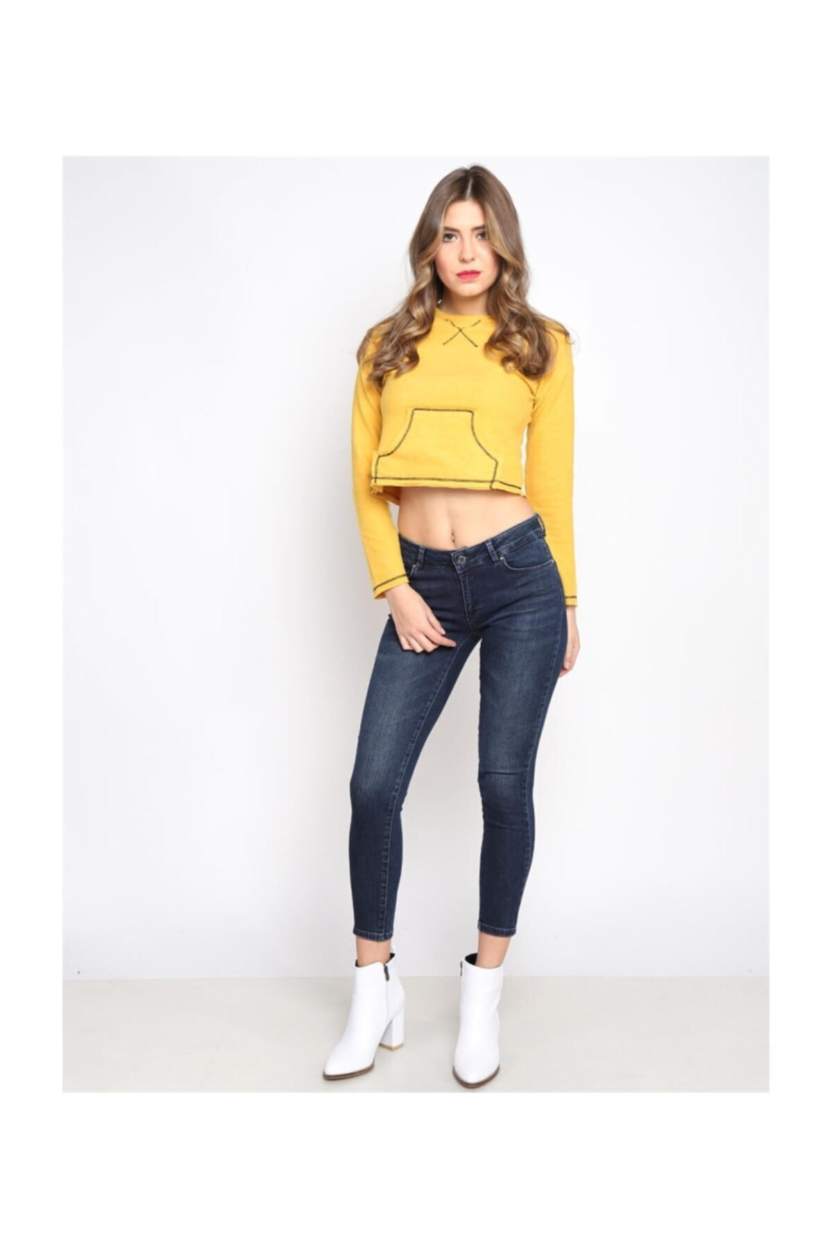 Twister Jeans Lima  Lacivert Orta Bel Jean 1