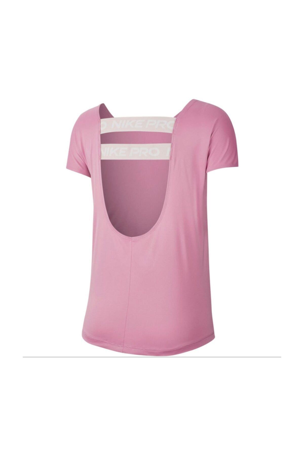 Nike W Np Dry Elastıka Ss Top Essnt Kadın Antrenman Tişört Cj4082-693 2