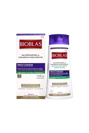 Bioblas Saç Dökülmesine Ve Yağlanmaya Karşı Şampuan 360ml