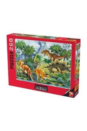 Anatolian Puzzle 260 Parça Puzzle Dinozorlar Vadisi  Dino Valley