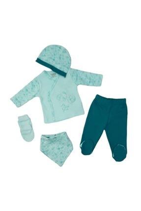 Ciccim Baby 4332 Kız Bebek Little Princess Işlemeli 5'li Hastane Çıkışı