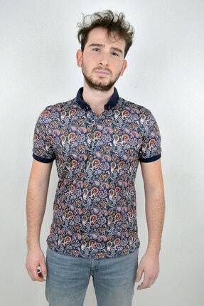 Mcr Erkek Polo Yaka T-shirt Ornament Model