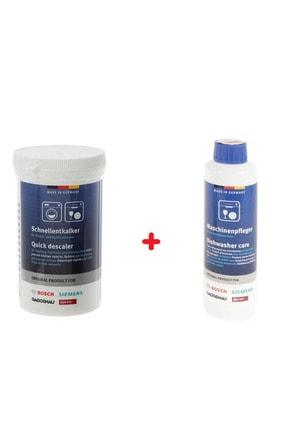 Bosch Çamaşır Ve Bulaşık Makineleri Için Kireç Önleyici Ve Temizleyici Set