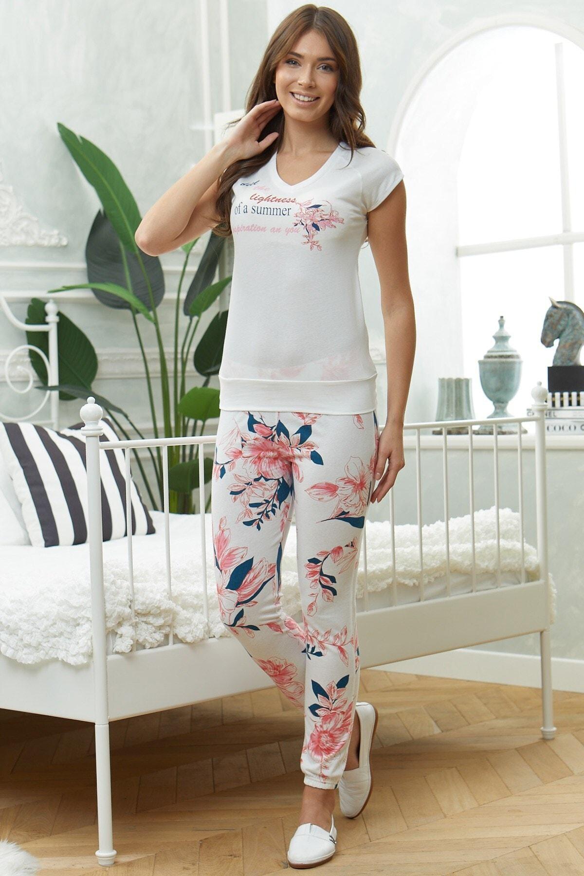 Lohusa Sepeti Kadın Temporada Pijama Takımı-08827 1