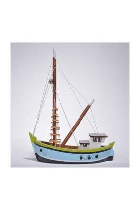OKYANUS TEKNE Karadeniz Çektirme Gemi Modeli – Çektiri Sandal Tekne Kayık Maketi