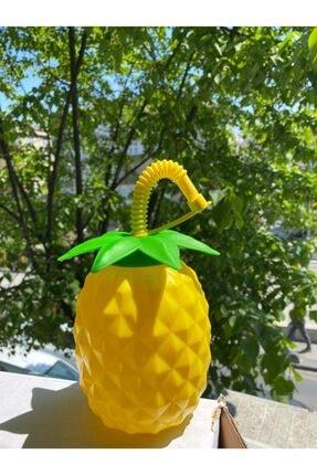 İndirimKap Ananas Pipetli Suluk