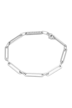Atolyewolf Gümüş Link Zincir Bileklik