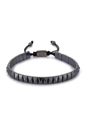 Atolyewolf Siyah Piramit String Bileklik