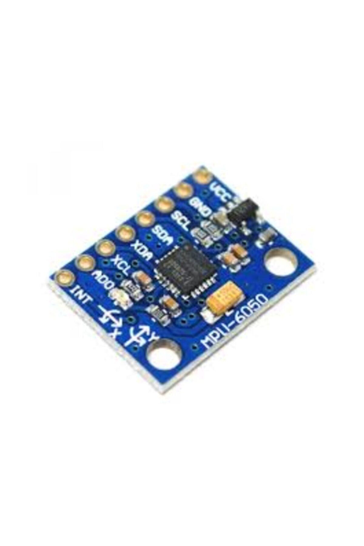 Arduino Mpu6050 6 Eksenli Gyro Ve Eğim Sensörü Gy521 Accelerometer 2