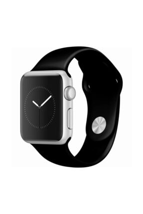grahambell Apple Watch 42-44 Mm Kordon Spor Kayışı Yumuşak Silikonsiyah