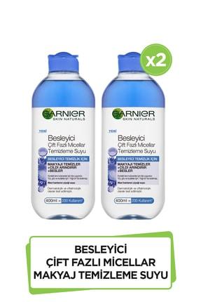 Garnier 2'li Besleyici Çift Fazlı Micellar Makyaj Temizleme Suyu 400 ml  36005420981131