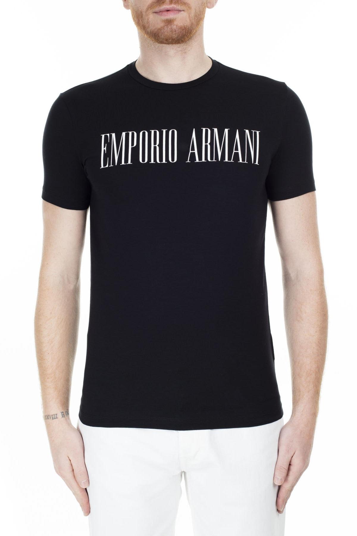 Emporio Armani Regular Fit T Shirt Erkek T Shirt S 6G1Td5 1J0Az 0002 S 6G1TD5 1J0AZ 0002