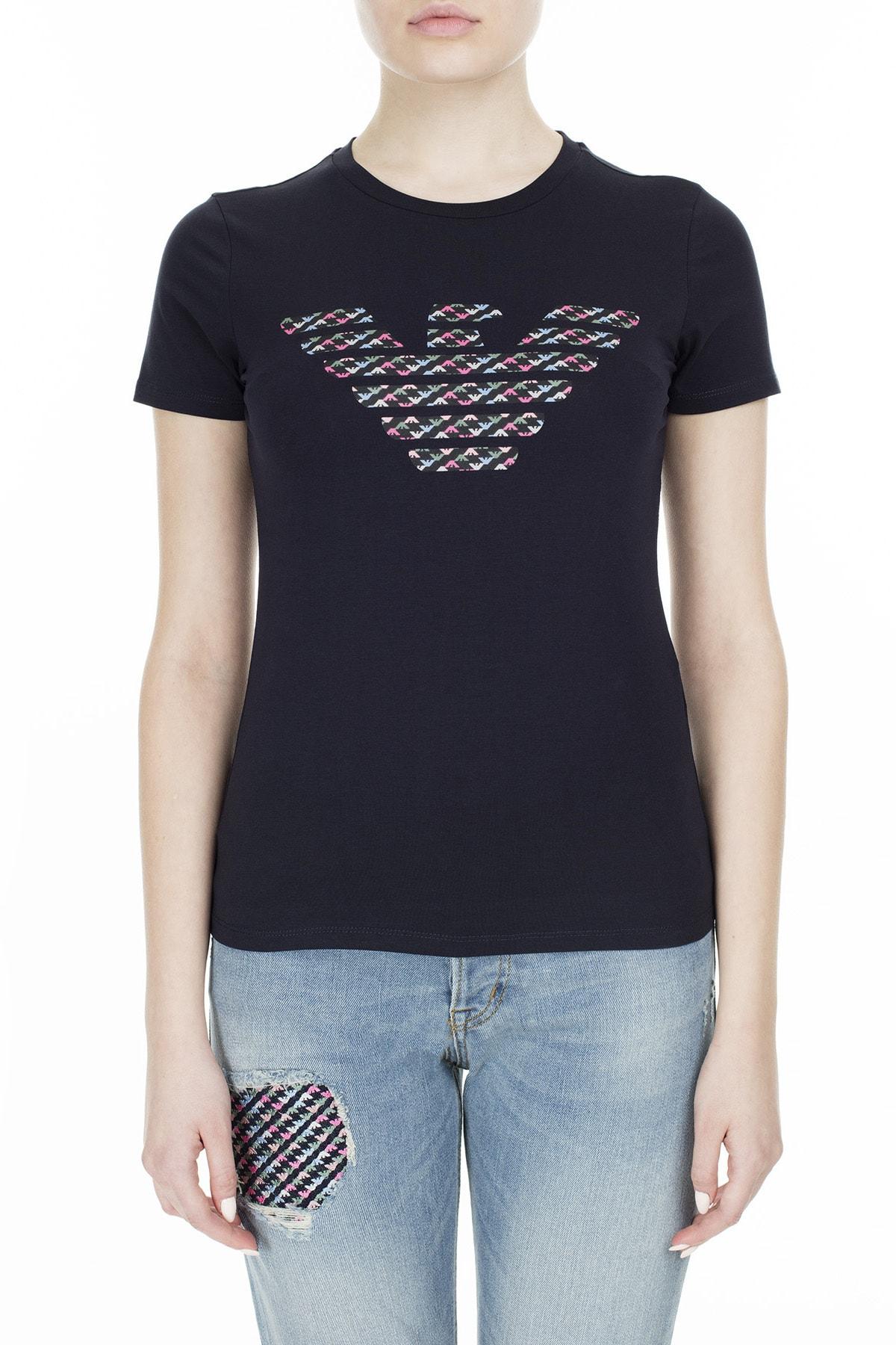 Emporio Armani T Shirt Kadın T Shirt S 6G2T7N 2J07Z 0927 S 6G2T7N 2J07Z 0927