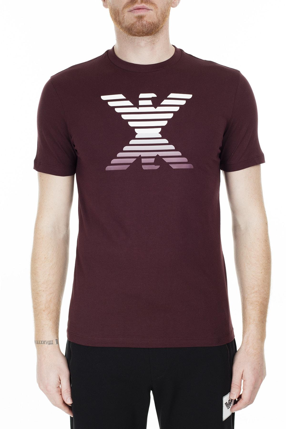 Emporio Armani Regular Fit T Shirt Erkek T Shirt S 6G1Tc3 1J00Z 0340 S 6G1TC3 1J00Z 0340