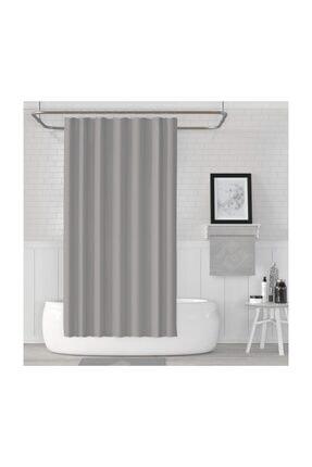 Jackline Banyo Duş Perdesi 0010 Gri Çift Kanat 2x120x200