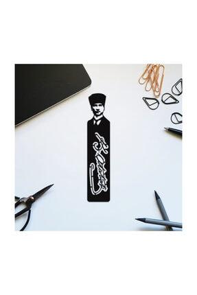 Bookalemuntr Mustafa Kemal Atatürk Siluet Kitap Ayracı