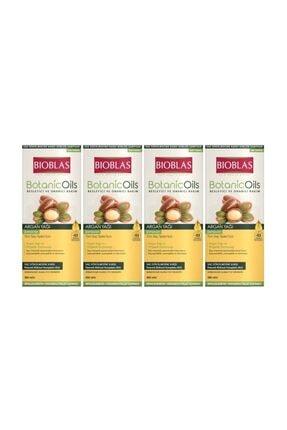 Bioblas Şampuan 360ml Argan Yağı Özlü Argan Şampuan 4 Adet