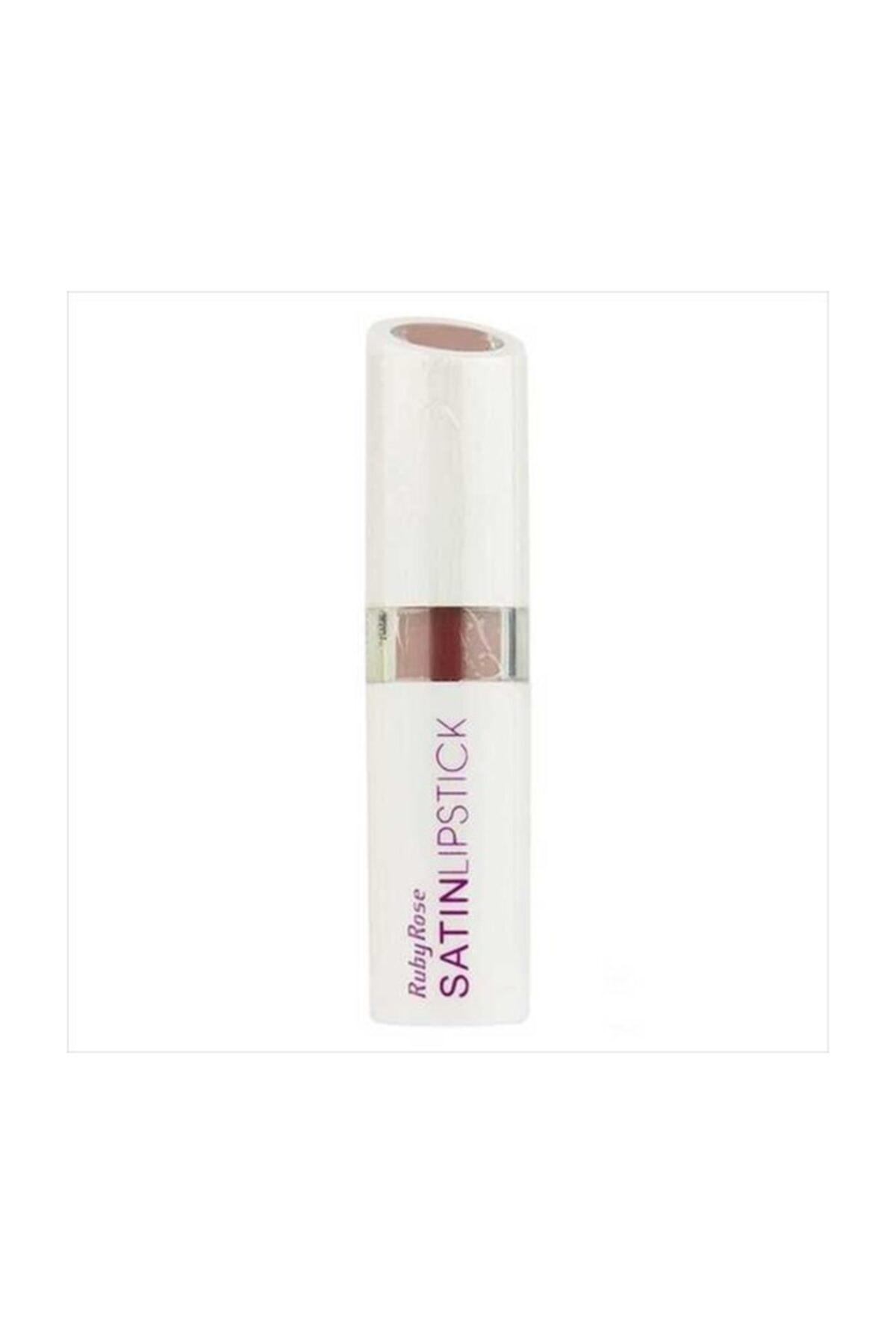 Ruby Rose Satin Lipstick -  272 1