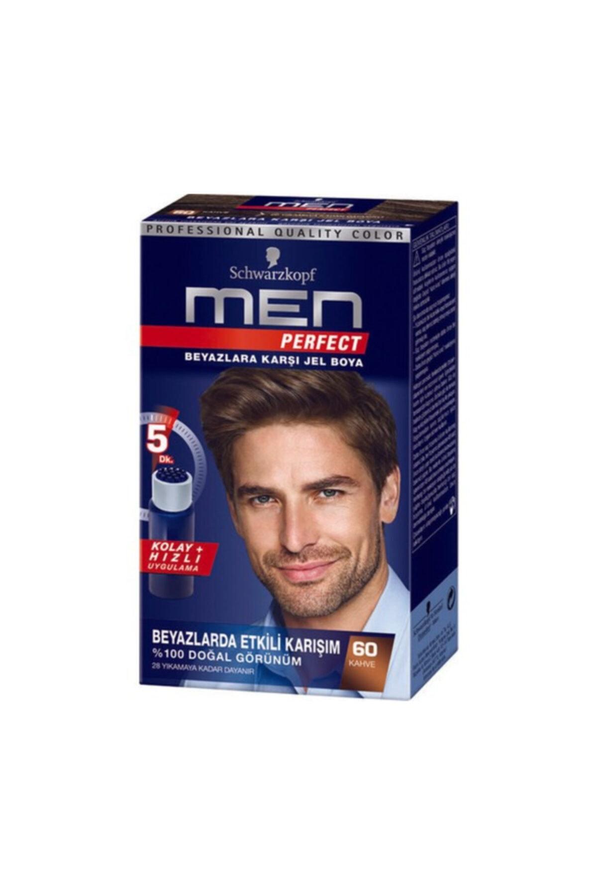SCHWARZKOPF HAIR MASCARA Men Perfect 60 Kahve 1 Li 1