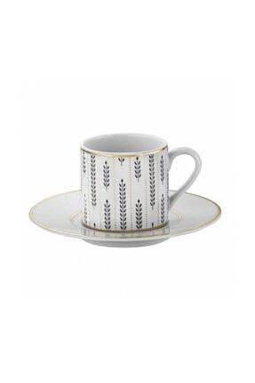 Kütahya Porselen Rüya 12 Parça 6 Kişilik Kahve Fincan Takımı Ru12kt4307723