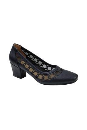 Nur Rose Kadın Kalın Topuklu  Ayakkabı  8618