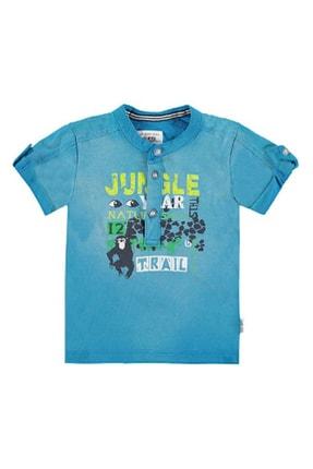Kanz Yeşil Erkek Çocuk Tişört K.Kol 163K0723583