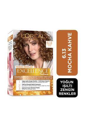 L'Oreal Paris L'Oreal Excellence Intense Saç Boyası Mocha Kahve 6.13