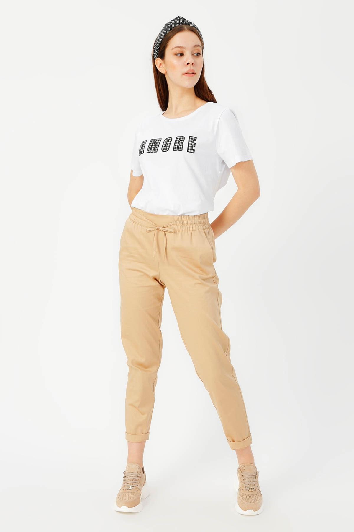 LİMON COMPANY Kadın Beyaz Tişört 504393944 Boyner 2