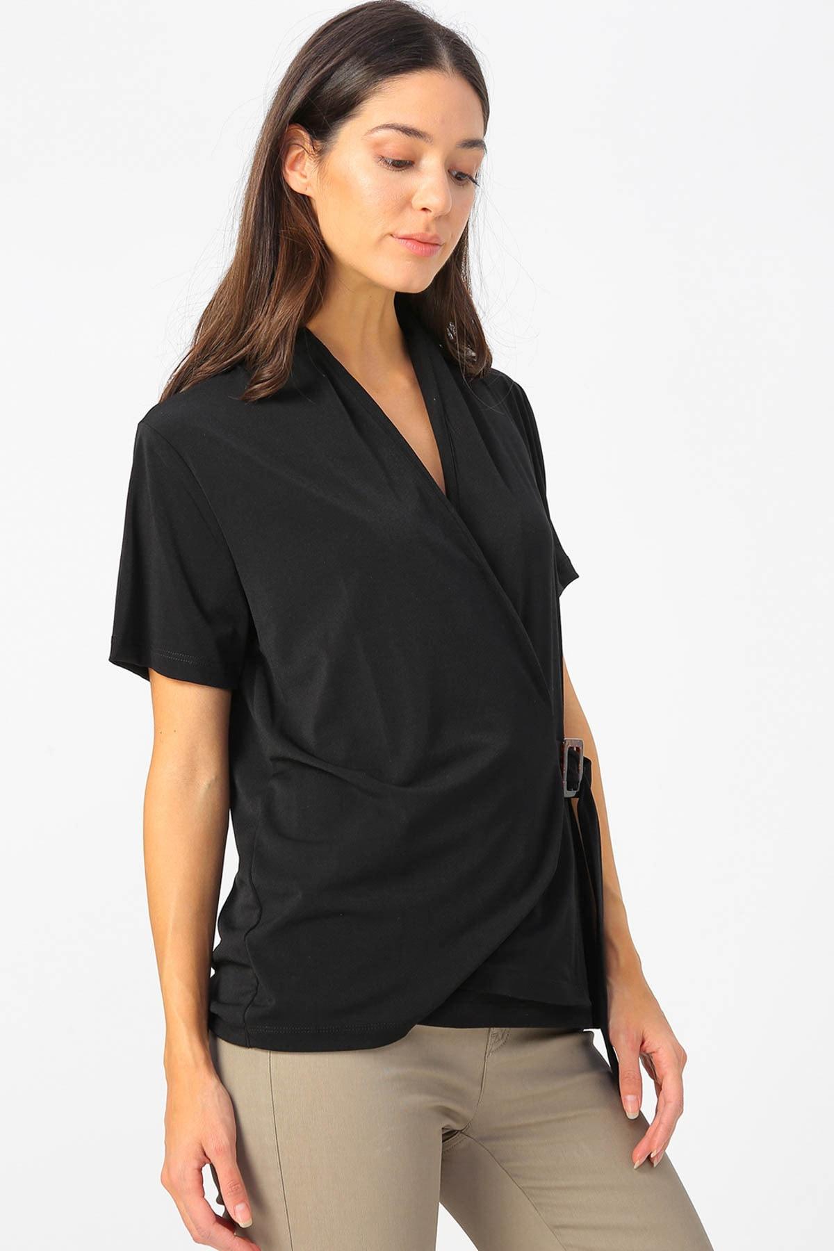 Fabrika Kadın Siyah Bluz 504393070 Boyner 2