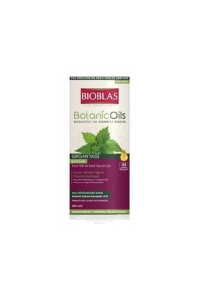 Bioblas Şampuan Isırgan Yağı Özlü Ince Telli 360 Ml 4 Adet