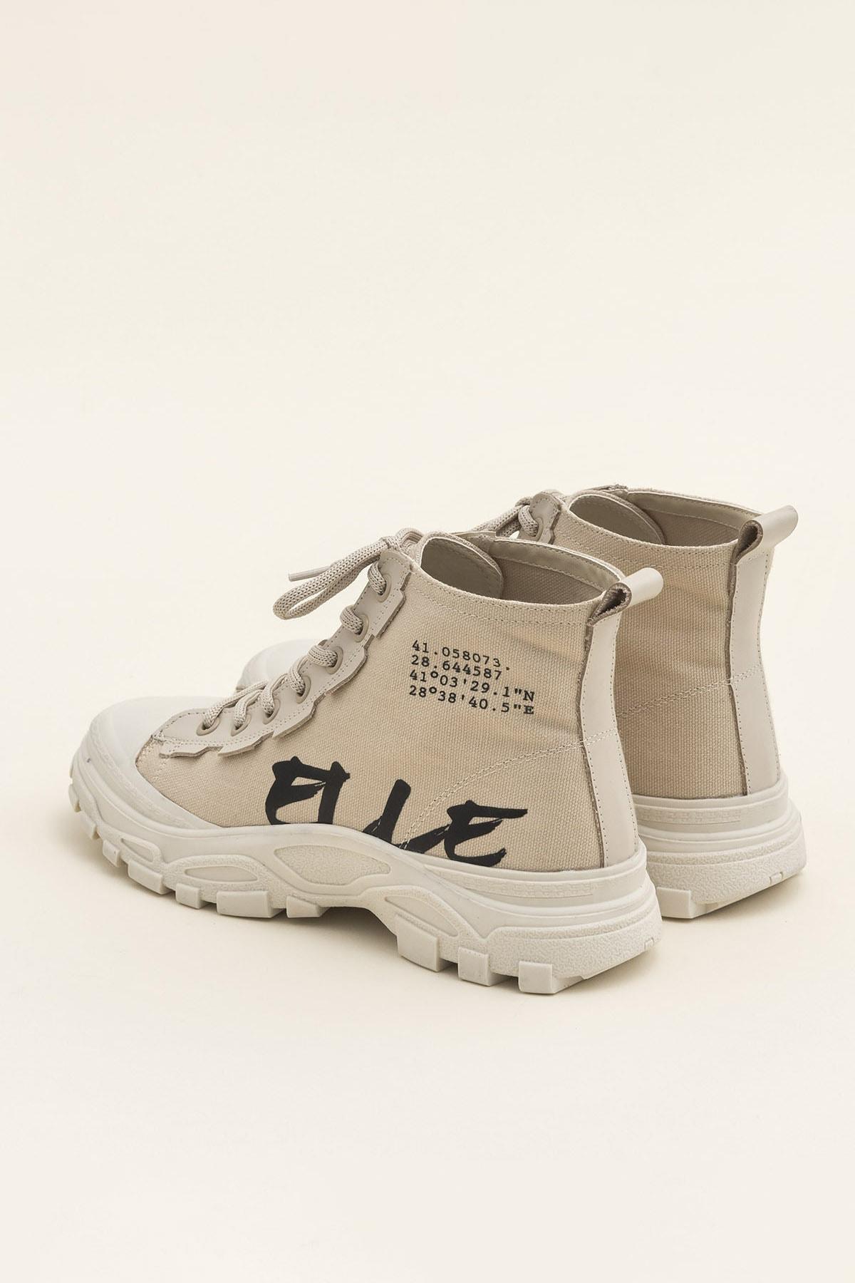 Elle Shoes KAYCE Bej Kadın Bot 2