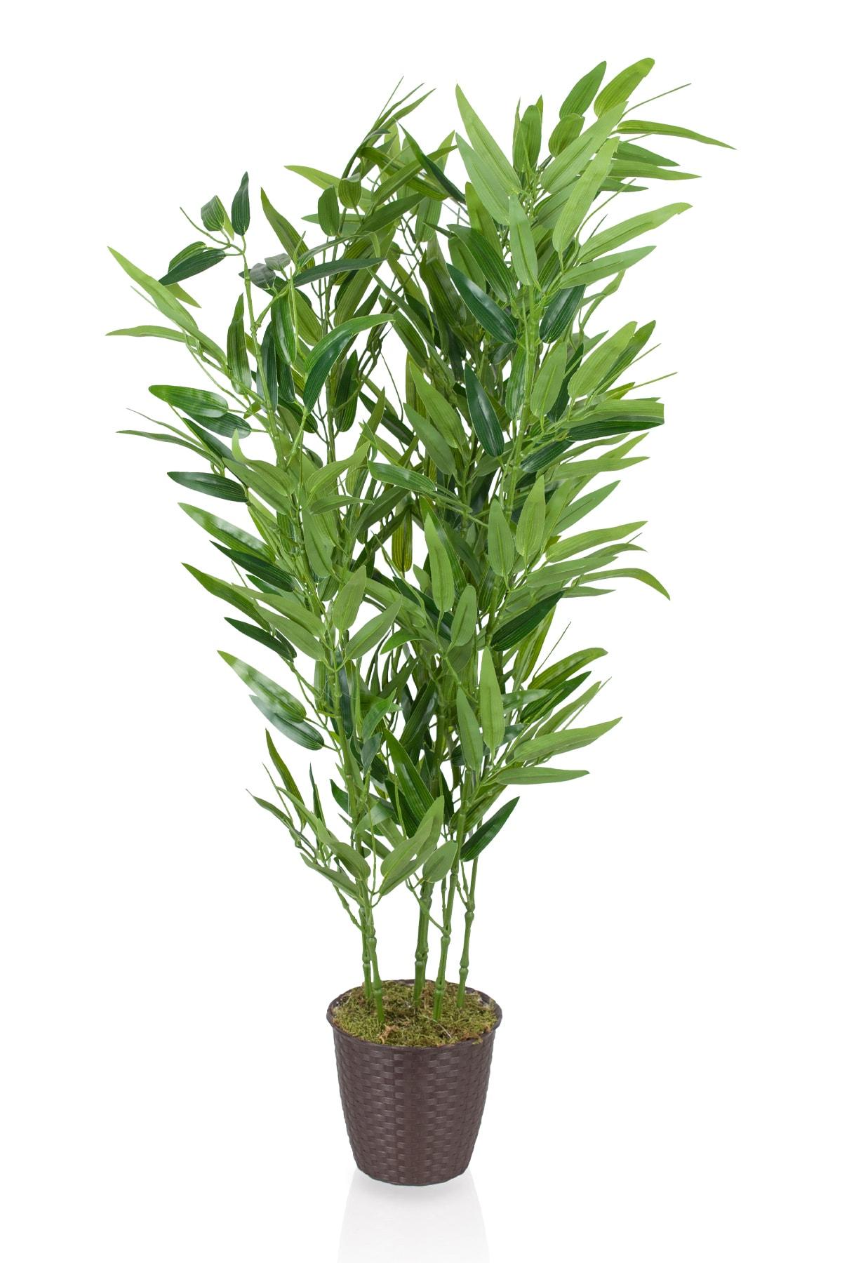 Çiçekmisin Çim Detaylı Yapay Bambu Ağacı