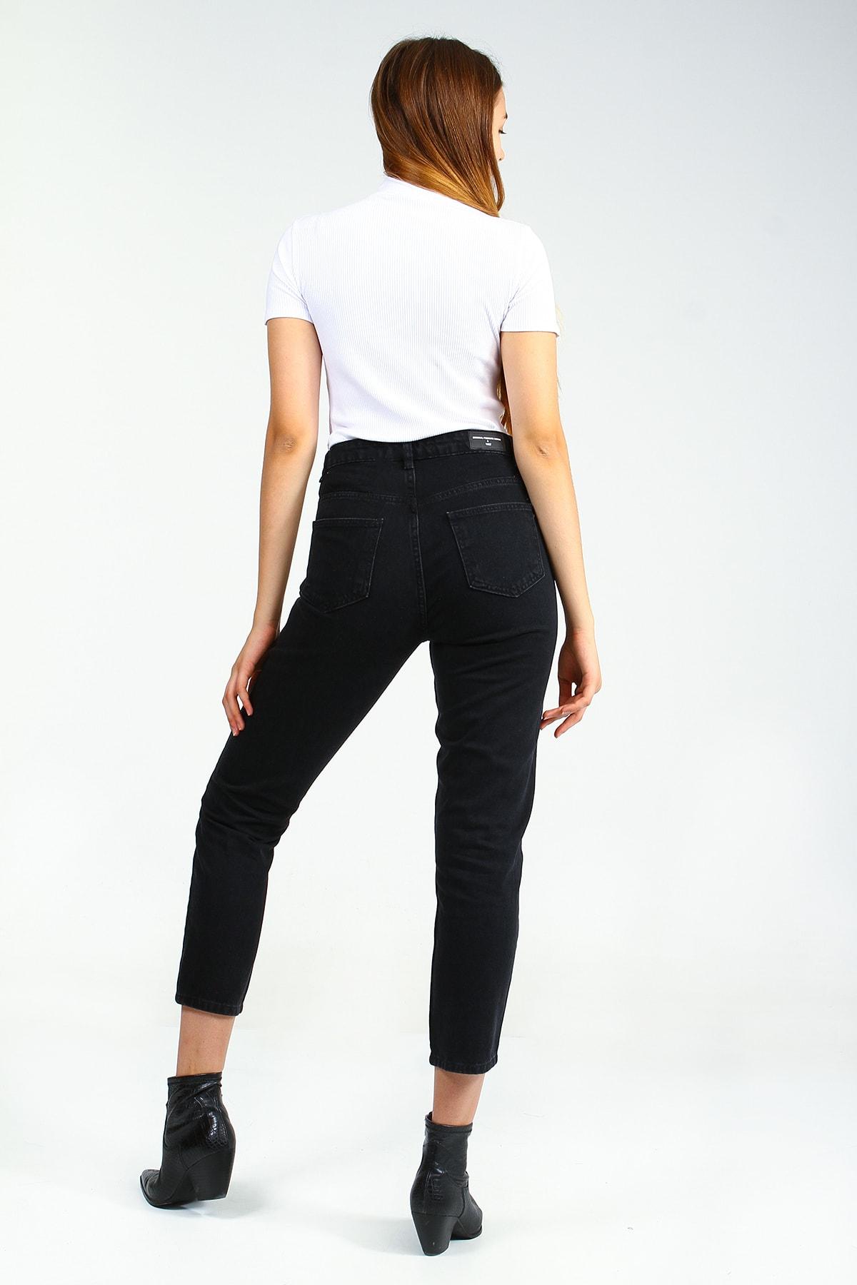 Collezione Kadın Siyah Pantolon 2