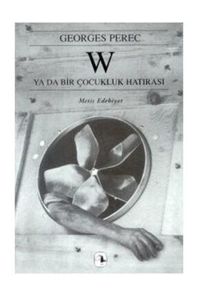 Metis Yayınları W - Georges Perec