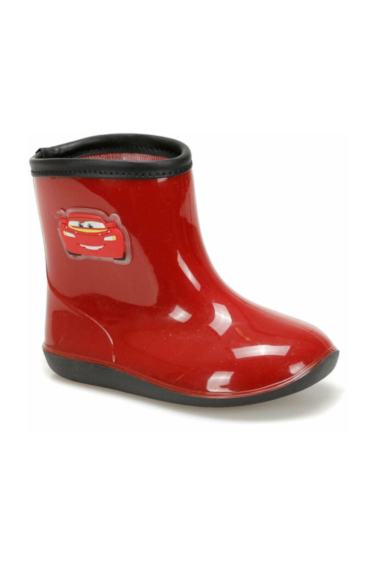 CARS 97245 Kırmızı Erkek Çocuk Yağmur Çizmesi 1