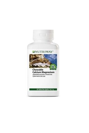 Amway Chewable Calcium Magnesium Nutrıway™ 80 Tablet  5847
