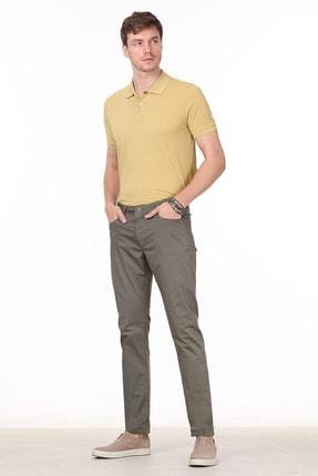 Ramsey Erkek Haki Düz Dokuma Pantolon RP10120058