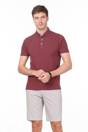 Ramsey Erkek Gül Kurusu Jakarlı Örme T - Shirt RP10119895