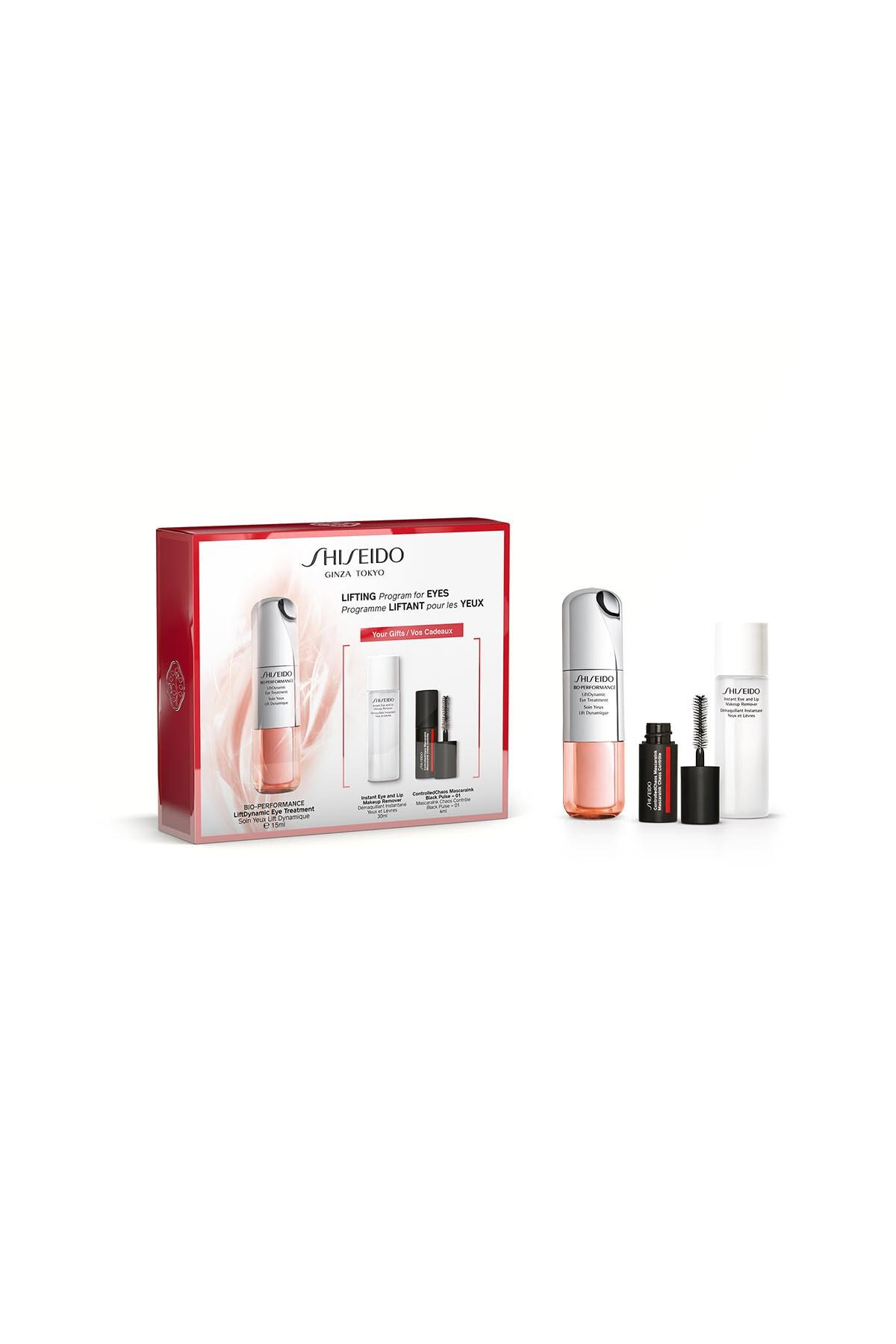 Shiseido Göz Çevresini Sıkılaştıran ve Nemlendiren Bakım Seti - BOP Lift Dynamic Eye Care Set 3598380364111